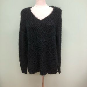 Kenneth Cole Reaction Fuzzy Sweater: Black (PM2011